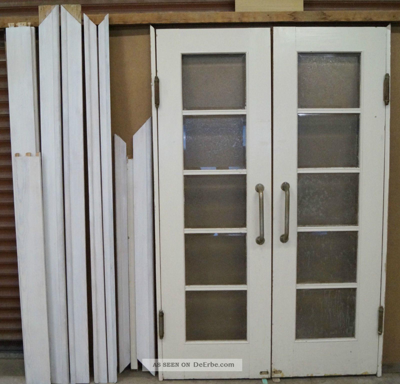 Zweiflügelige innentür  Historische Baustoffe - Bauelemente - Original, vor 1960 gefertigt ...