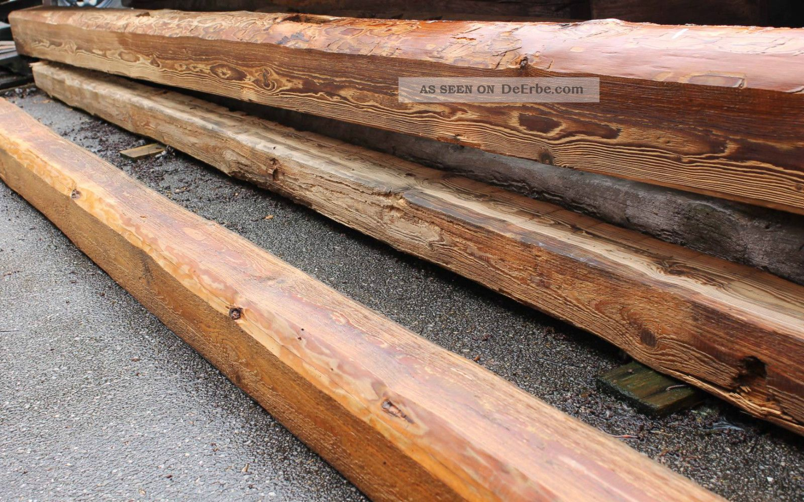 Holzbalken alt balken geb rstet behandelt gegen sch dlinge historische balken - Alte holzbalken kaufen ...