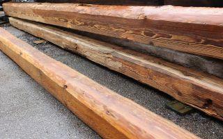 Holzbalken Alt,  Balken Gebürstet,  Behandelt Gegen Schädlinge,  Historische Balken, Bild