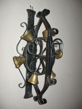 Glockenrad Türglocke Haustürglocke Wandglocke Glockenspiel Mit 6 Messingglocke Bild