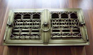 Doppeloffentür - Lüftungsklappen - Stahlelemente - Lüftungsgitter (röhrtür) Bild