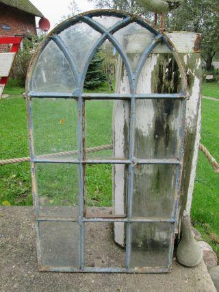 Historische baustoffe bauelemente original vor 1960 gefertigt fenster antiquit ten - Fenster mit rundbogen ...