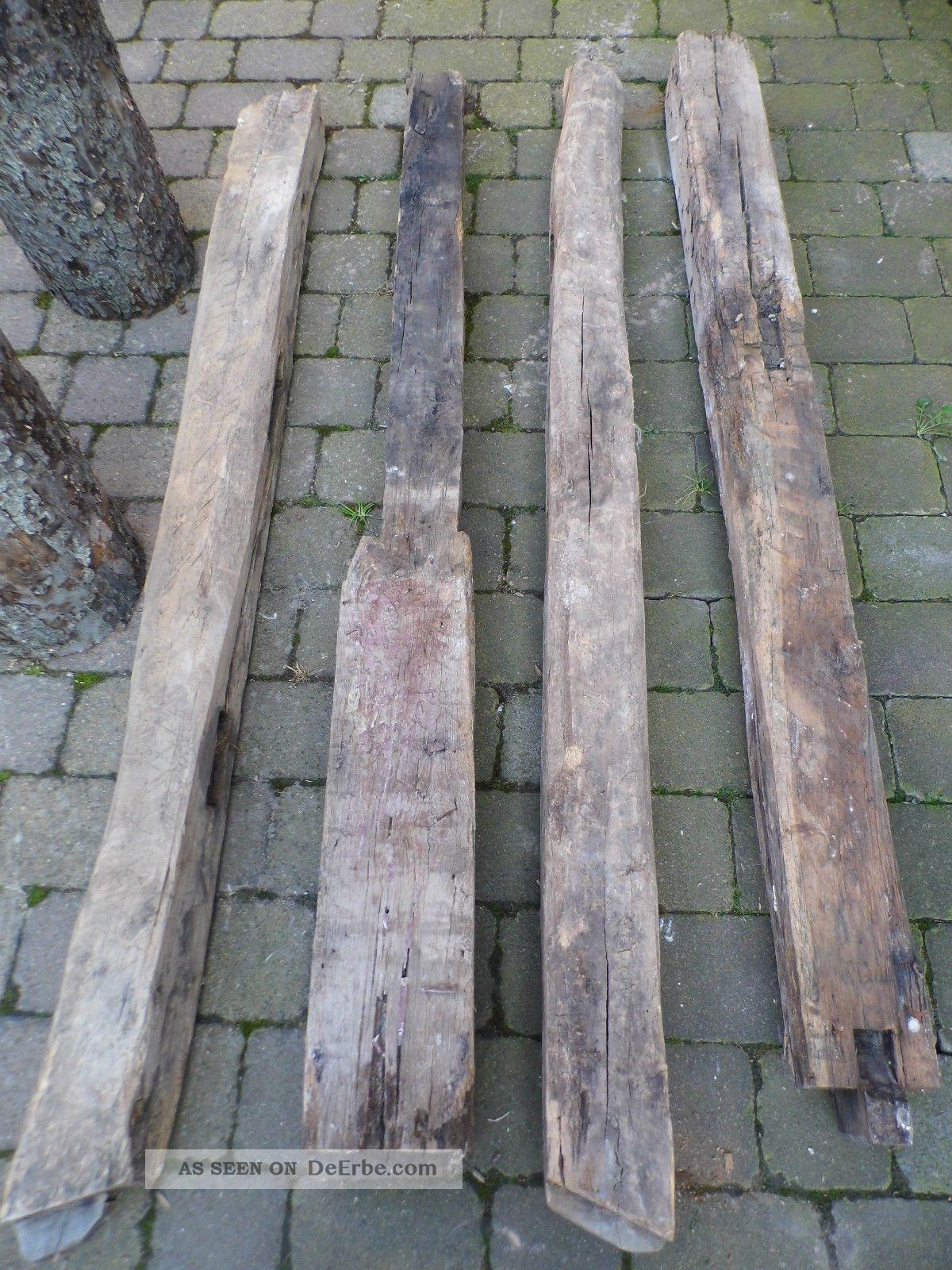 Alte eichenbalken und apfelstammholz fachwerk holzbalken for Holzbalken fachwerk