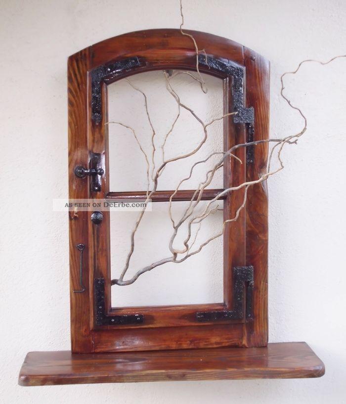 altes fenster holzfenster mit ablage fensterbank antik. Black Bedroom Furniture Sets. Home Design Ideas