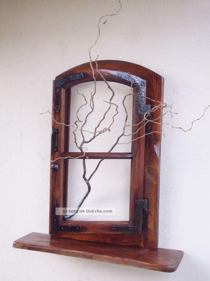 altes fenster als wanddeko inspiration. Black Bedroom Furniture Sets. Home Design Ideas