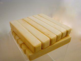 Stäbe,  Messerbänke Aus Echtem Bein,  Deposits For Cutlery,  335g Bild