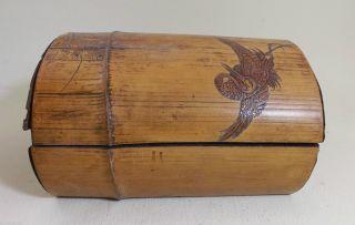 Holzdose,  Antik - Mit Schönen Schnitzereien - Aus China - Ca.  30ger Jahre (, / -) Bild