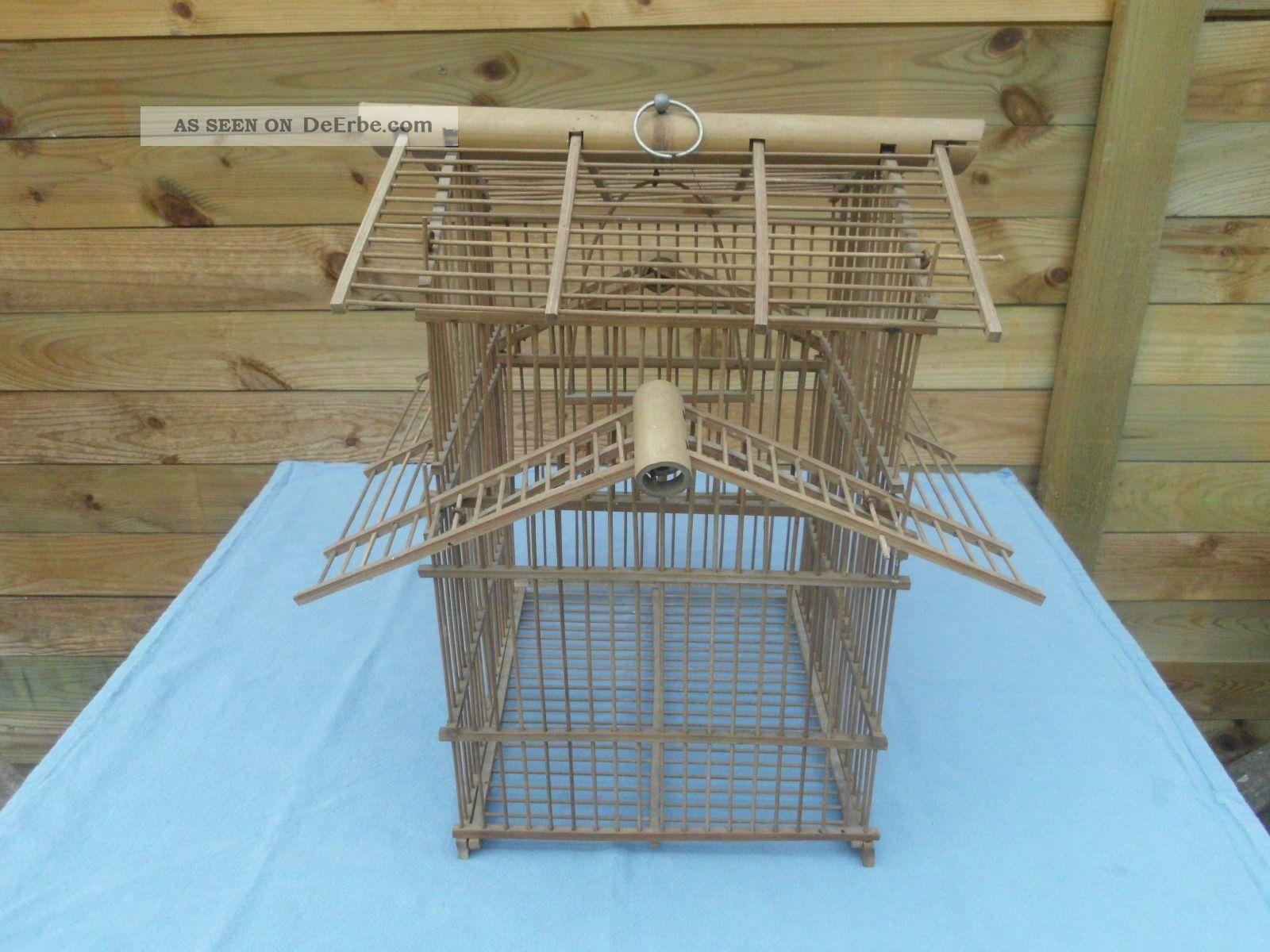 asia deko holz bambus vogelk fig china japan blumenampel. Black Bedroom Furniture Sets. Home Design Ideas