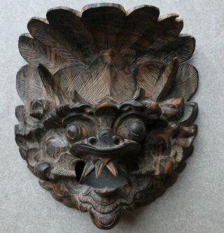 Holzmaske Aus 1981 Wanddekoration Deko Bali / Indonesien Südost - Asien Bild