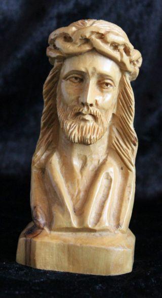 Holzfigur Jesus? Geschnitzt Bild