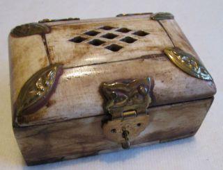Schmuck Kästchen Aus Bein Antik Bild