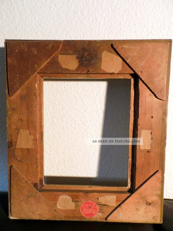 1930 holland bilderrahmen gold rahmen aus holz florale muster. Black Bedroom Furniture Sets. Home Design Ideas