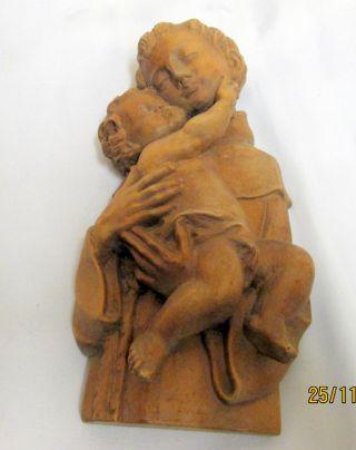 Kleine Madonna Mit Kind Geschnitzt In Bergahornholz Bild