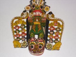 Ceylon Sri Lanka Holzmaske Bild