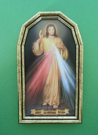 Barmherziger Jesus D A - 275 Ca.  22 X 13 Cm Geschenk Hausaltar Heiligenbild Bild