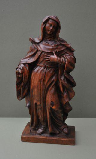 Holzskulptur Heiligenfigur 17/18 Jh Bild