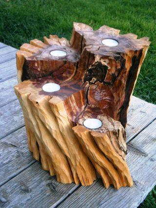Skulptur - Advent,  Pflaumenholz,  Sculpture,  Woodcarving,  Holzskulptur,  Schnitzen Bild