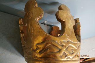 Krone,  Bekrönung,  Figurenkrone,  Baldachin,  Krone 20.  Jh. Bild