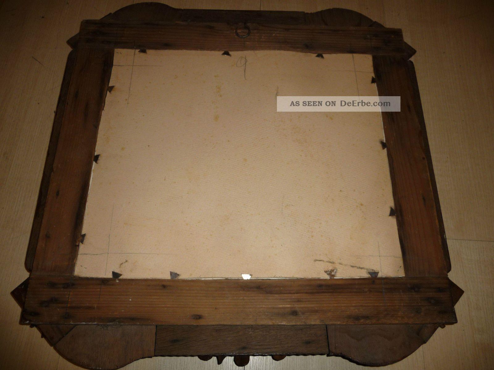 Bilderrahmen Holz Handarbeit ~ Alt, Bilderrahmen, Holzrahmen, Handarbeit Holzarbeiten Bild 4