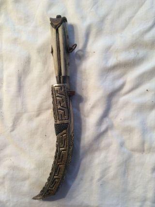 Tibetischer Damendolch,  Messer Bild