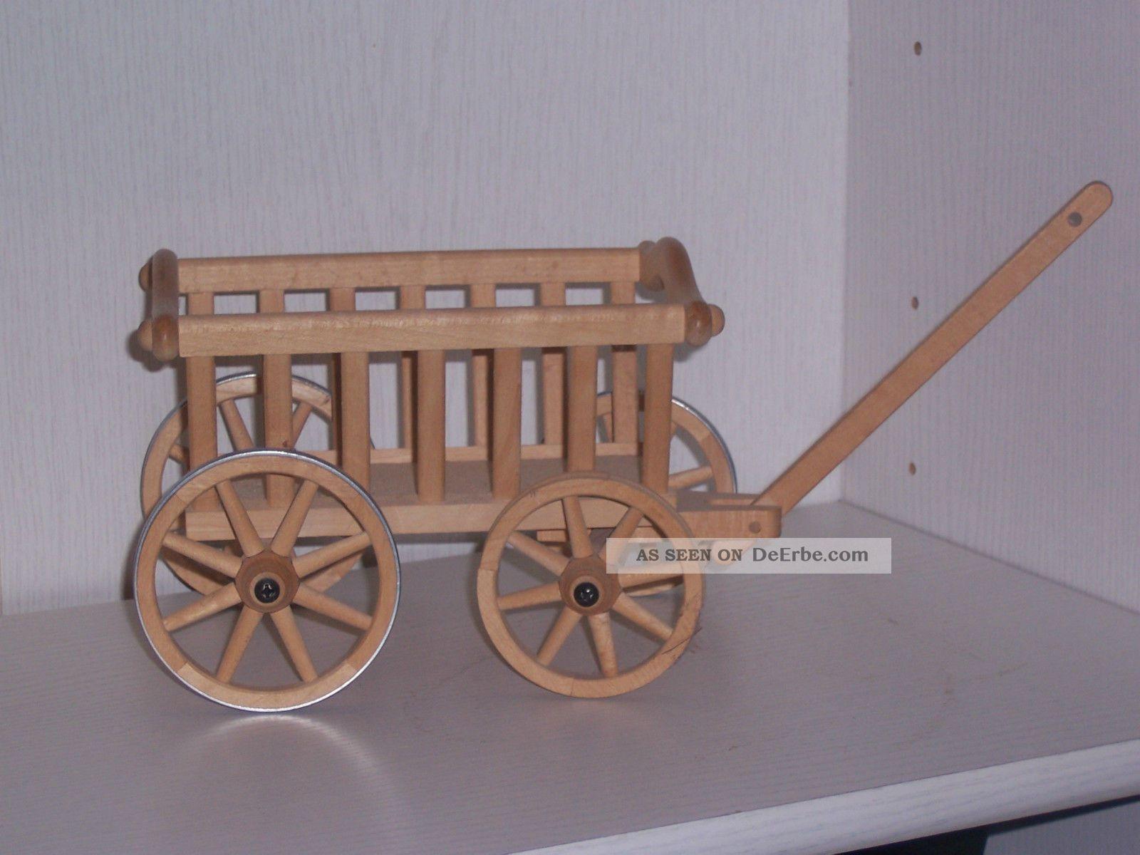 Kleiner Leiterwagen Aus Holz Für Puppenstube Oder Deko Filigrane ...