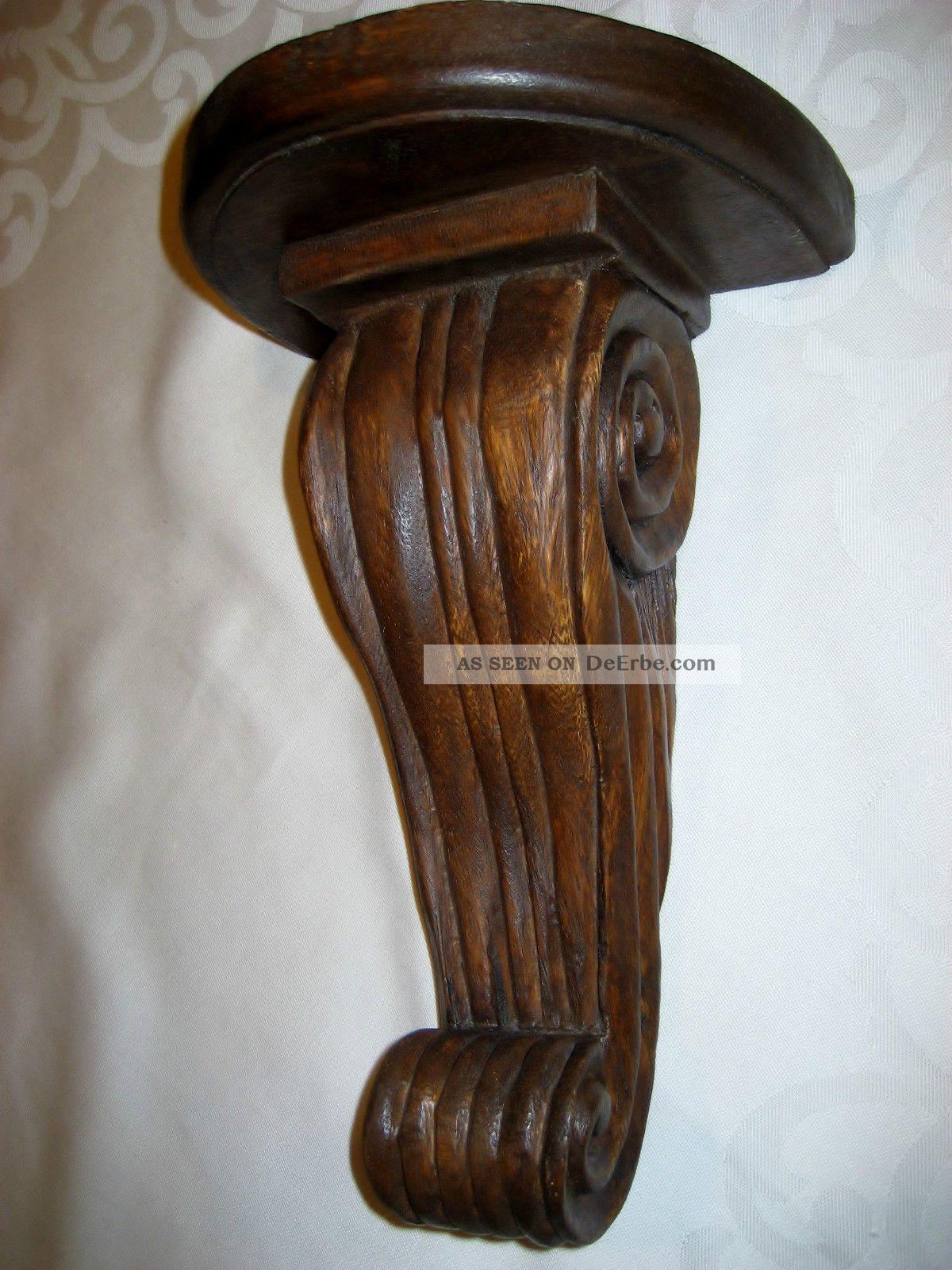 Wandkonsole Holz wandkonsole holz