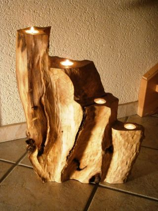 Skulptur - Advent,  Alte Buche,  Sculpture,  Woodcarving,  Beech,  Holzskulptur Bild