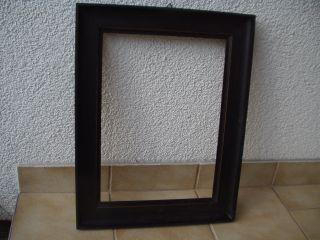 Antiker Originaler Ebonisierter Schwarzer Biedermeier - Holz - Rahmen - 19.  Jhd Bild