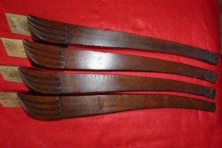 Alte Tischbeine Holz Gründerzeit Bild
