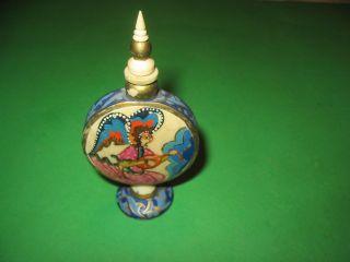 Parfüm - Flakon Asien Gemalen Bein Bild