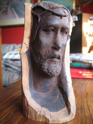 Skulptur Jesuskopf Bild