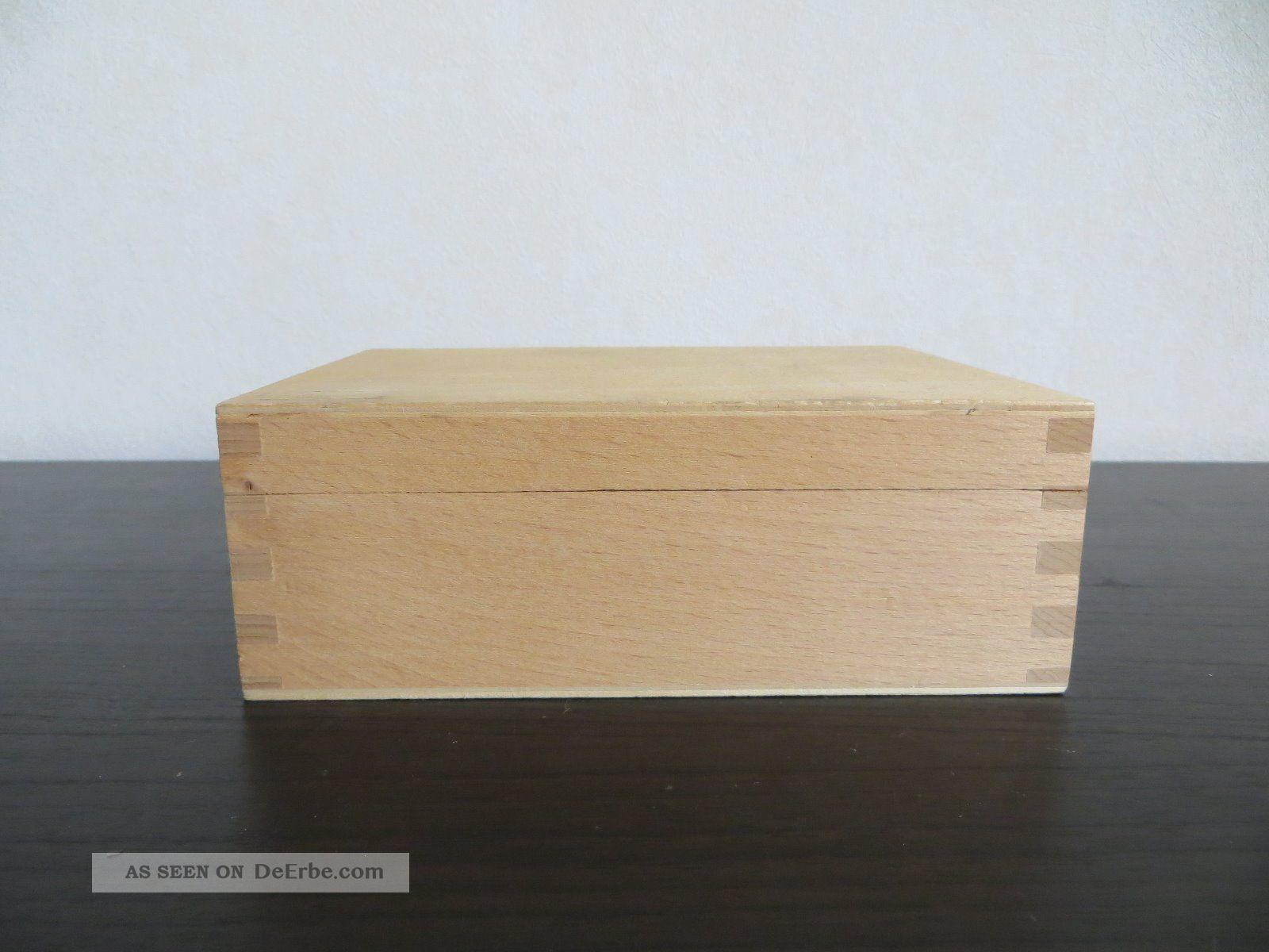 holzkiste kiste aus holz box schatulle unbehandelt zum basteln kleinkram knorr. Black Bedroom Furniture Sets. Home Design Ideas
