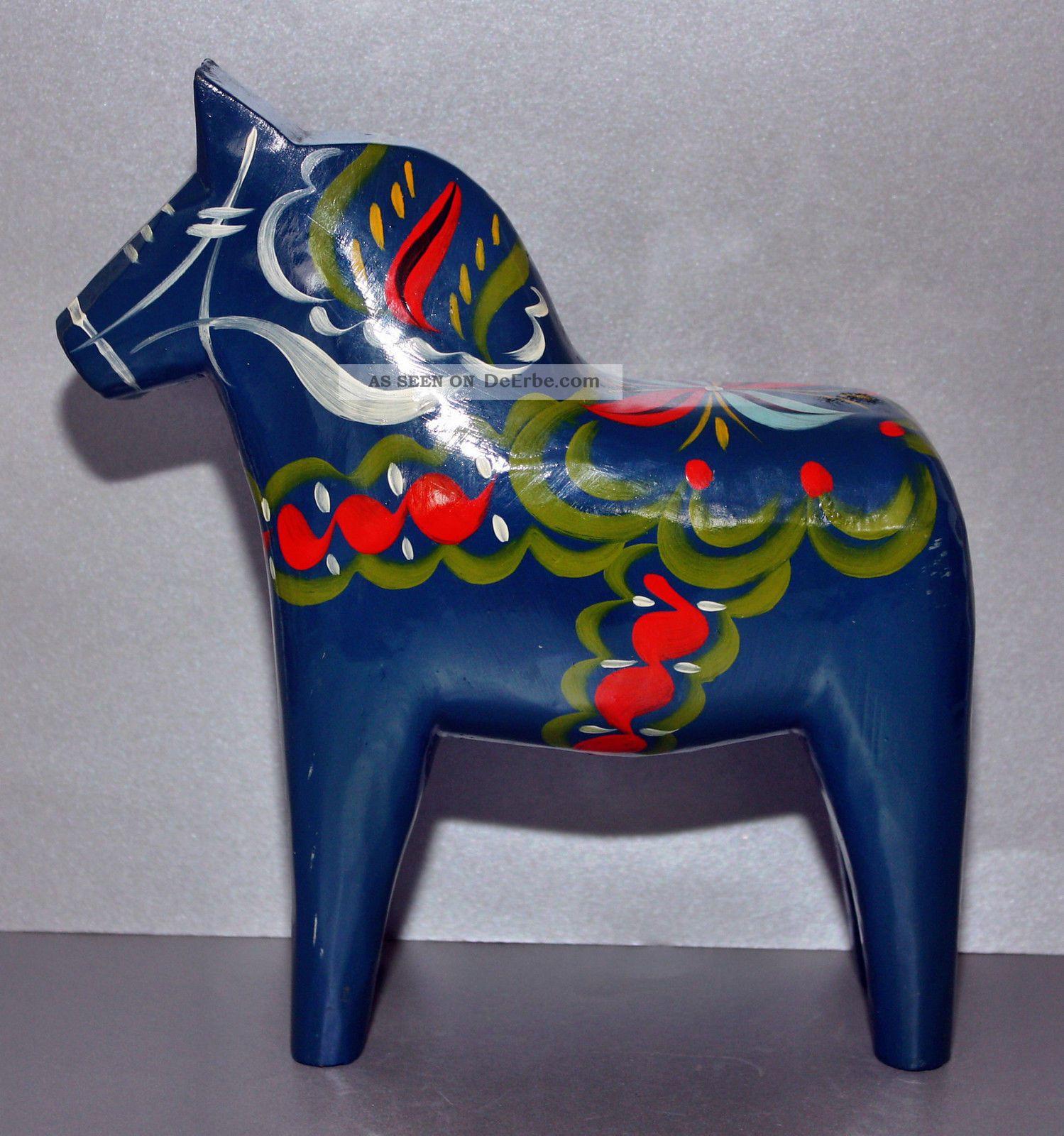 Dalarna Pferd holz beinarbeiten holzarbeiten antiquitäten