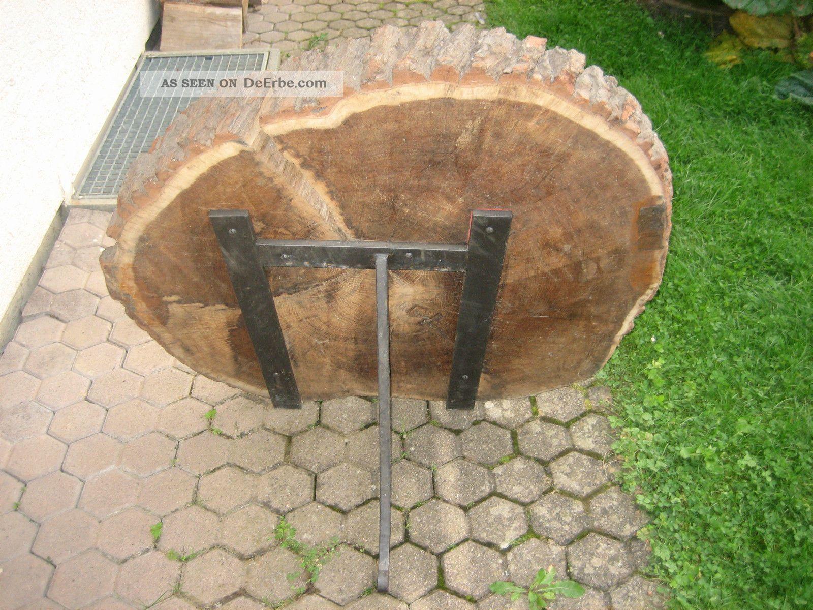 Holzscheibe baumscheibe eiche zur dekoration von eingang for Holzscheiben deko
