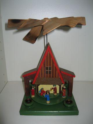 Erzgebirge Alte Pyramide Christi Geburt Bild