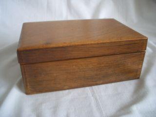 Holz - Kästchen – Schmuck - Schatulle – Kiste – 389 - Sammlerstück Bild