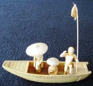 Wunderschöne,  Uralte,  Chinesiche Miniatur.  (2) Bild