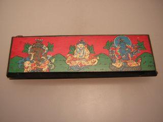 Manuskript Aus Tibet (tibet Manuscript 12) Bild