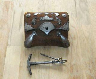 Seltene Patronentasche U.  Vorderladerwerkzeug Um 1800 Afghanistan,  Persien Bild