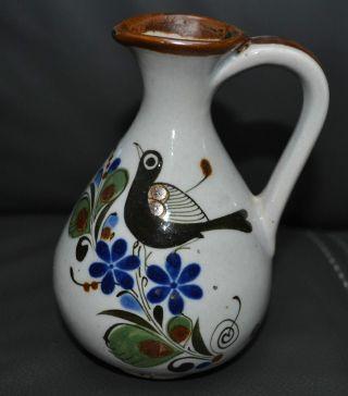 Azteca Mexico Vogel Handarbeit Keramik Vase Kanne Volkskunst Bild