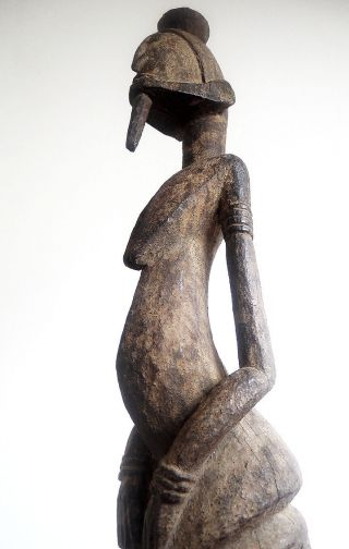 Wonderful Statue Dogon - Mali Bild