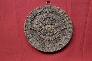 Maya / Azteken Kalender Südamerika Mexiko 12,  5cm 110 Gramm Wandaufhängung Bild