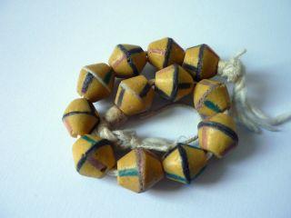 Strang King Bicone Perlen Beads Afrika Bild