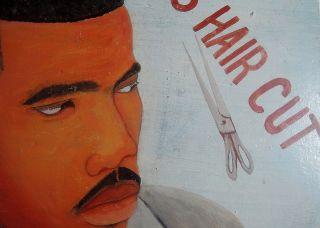 Frisörschild,  Reklameschild,  Ghana - Panneau De Coiffeur,  Ghana Bild
