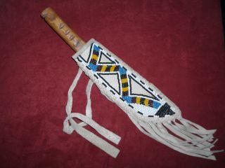 Indianer,  Messer,  Beadwork, Bild
