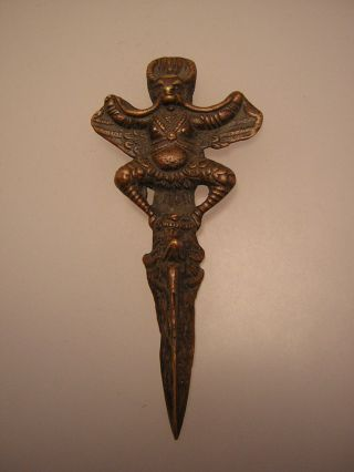 Phurba Aus Tibet (metal Ritual Objekt) Bild