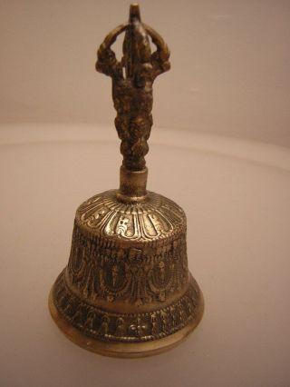 Tempel Glocke Aus Tibet - Nepal (metal Bell S) Bild