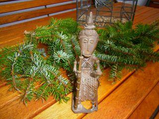 Alter Sitzender Buddha? Aus Bronze Bild