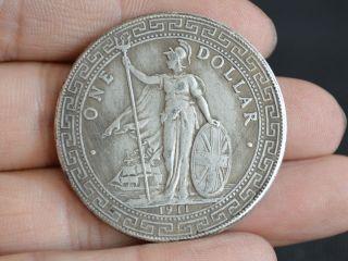 Vintage Handarbeit Sammlung Alten Tibet Silber One Us Dollar Gedenkmünzen Bild