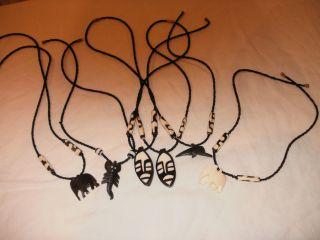 Kenia Konvolut Halsketten Handarbeit Reiseandenken Bild